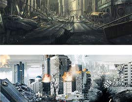 #7 для Make a 3D landscape image of a small city от MDAzimul