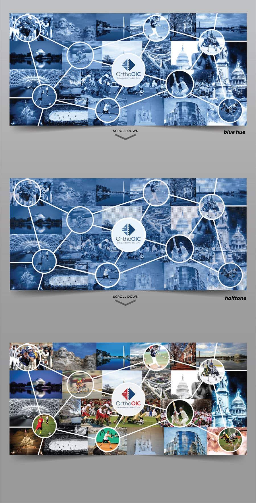 Kilpailutyö #76 kilpailussa Medical office Wall collage mural
