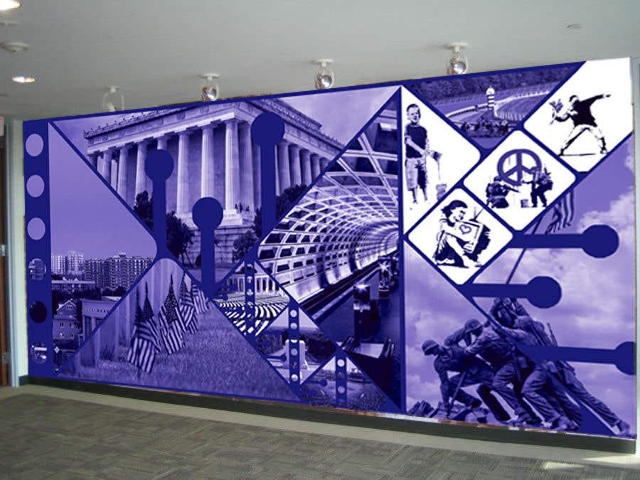 Kilpailutyö #35 kilpailussa Medical office Wall collage mural