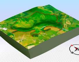 Nro 7 kilpailuun 3D terrain map käyttäjältä saurov2012urov