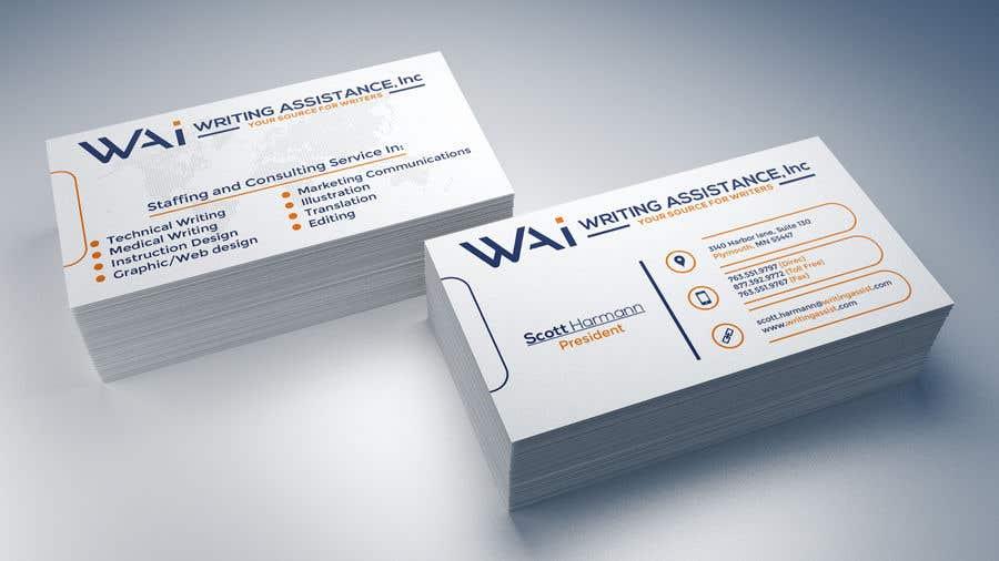 Inscrição nº 818 do Concurso para New Business Card Design