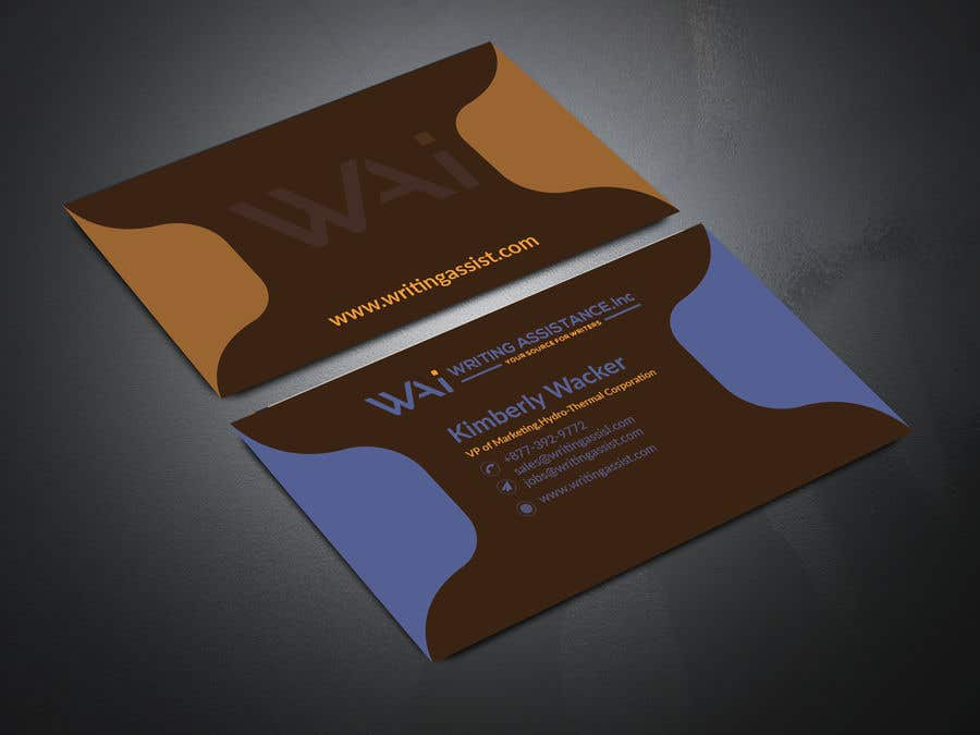 Inscrição nº 784 do Concurso para New Business Card Design