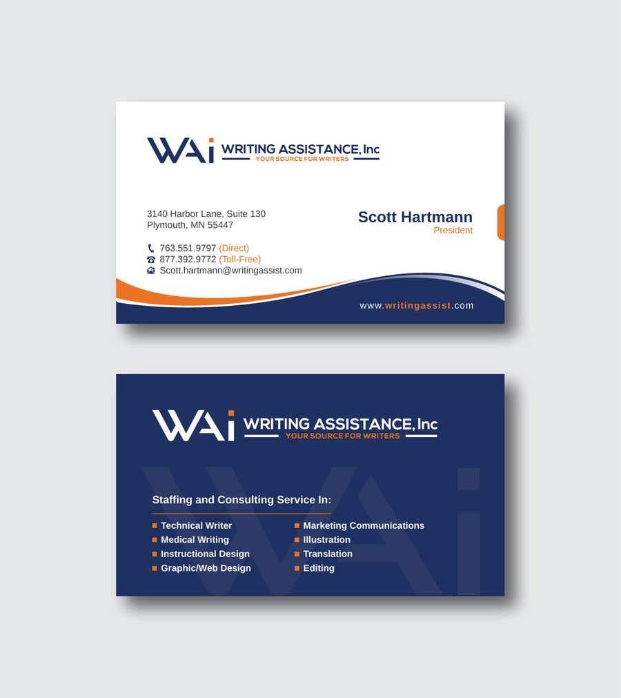 Inscrição nº 845 do Concurso para New Business Card Design
