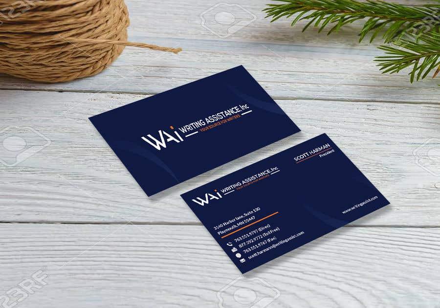 Inscrição nº 430 do Concurso para New Business Card Design