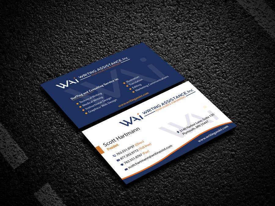 Inscrição nº 732 do Concurso para New Business Card Design
