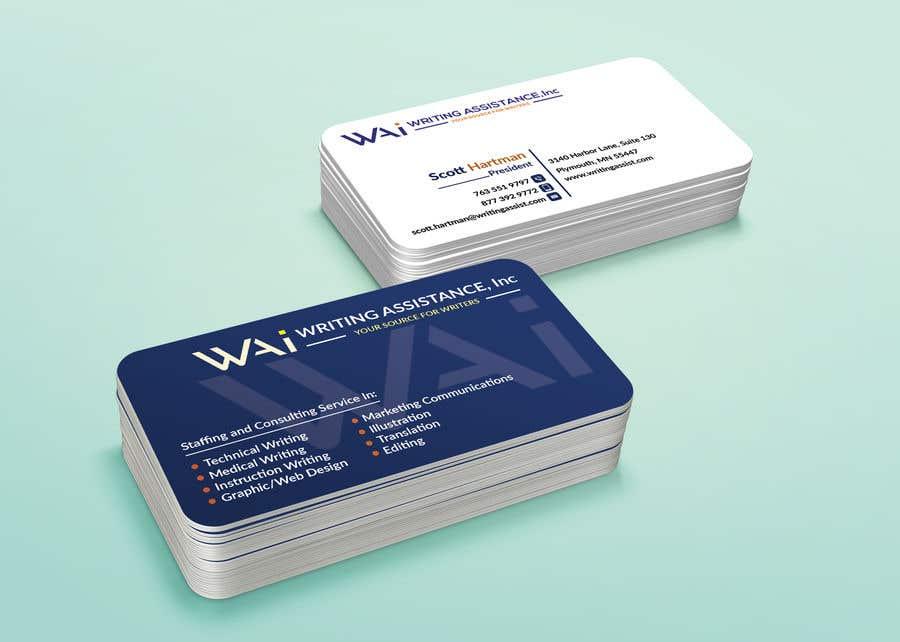 Inscrição nº 677 do Concurso para New Business Card Design