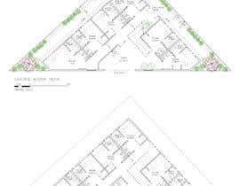 nº 31 pour Floor Plan needed for a student residence par kellyfloreste