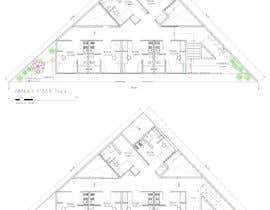 #53 for Floor Plan needed for a student residence af kellyfloreste