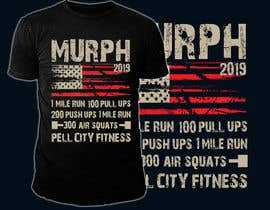 #44 for Murph 2019 Tee by hasembd