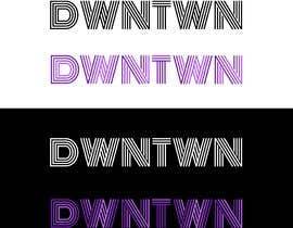 #77 untuk Diseño de logo dwntwn oleh fmbocetosytrazos