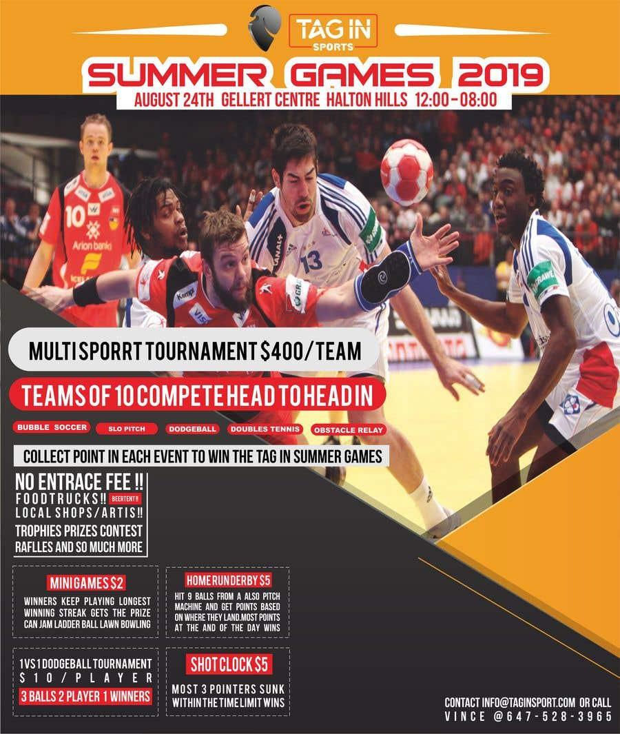 Penyertaan Peraduan #5 untuk Poster for Sports Festival