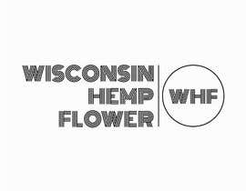 #49 for Wisconsin Hemp Flower Logo in a style Similar to an Uploaded File by almas1969bd