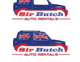 #18 untuk Modify existing logo.  Replace regular car with Jeep 4x4 car oleh helmath