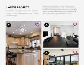 #34 untuk Build Me A Website Template For An Interior Designer oleh jniqbal1
