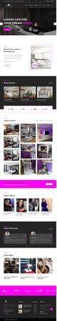 Imej kecil Penyertaan Peraduan #26 untuk Build Me A Website Template For An Interior Designer