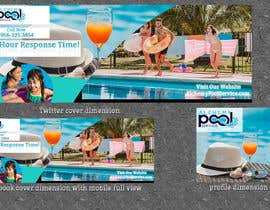 #51 для Images for Social Media for Swimming Pool Service от Designzone143
