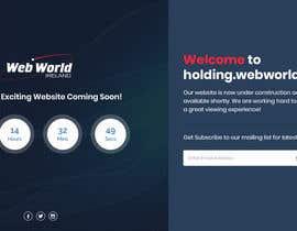 Nro 146 kilpailuun Creative holding page for hosting company käyttäjältä Isha3010