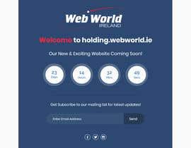 Nro 148 kilpailuun Creative holding page for hosting company käyttäjältä Isha3010