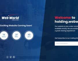 Nro 158 kilpailuun Creative holding page for hosting company käyttäjältä Isha3010