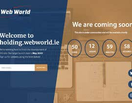 #136 cho Creative holding page for hosting company bởi shimul663