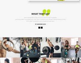 nº 40 pour Design for capoeira web site par shahinaakhter