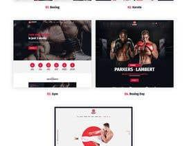 nº 38 pour Design for capoeira web site par utshossm