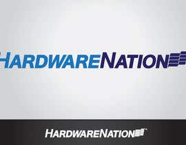 #546 for Logo Design for HardwareNation.com af tiffont