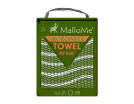 Nro 35 kilpailuun EYE Catching Bag Design for Microfiber Towel Bag käyttäjältä kalart