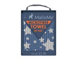 Nro 36 kilpailuun EYE Catching Bag Design for Microfiber Towel Bag käyttäjältä kalart