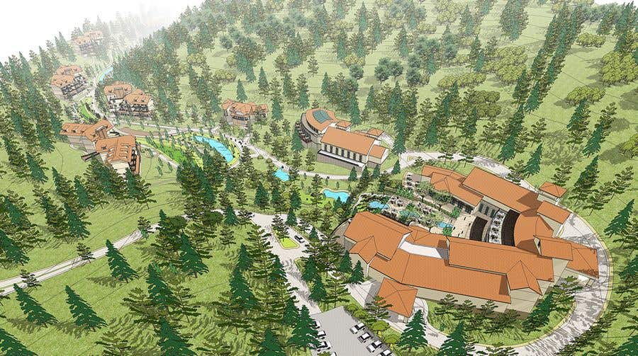 Entry #2 by cheegeet for render a resort site plan    | Freelancer