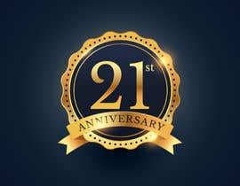 #2 untuk 21st Anniversary Logo oleh NancyWahid00