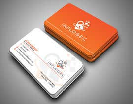 #509 for Business Card Design for IT Security Company by abdulmonayem85