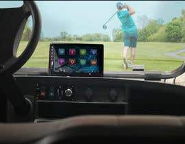 #23 para Photoshop touch screen on to dashboard of golf cart por retouchmaster01