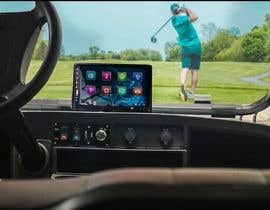 #27 para Photoshop touch screen on to dashboard of golf cart por retouchmaster01