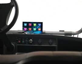 #32 para Photoshop touch screen on to dashboard of golf cart por Dristy1997