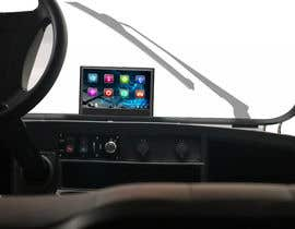 #28 para Photoshop touch screen on to dashboard of golf cart por msdato