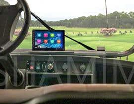 #21 para Photoshop touch screen on to dashboard of golf cart por shamim66