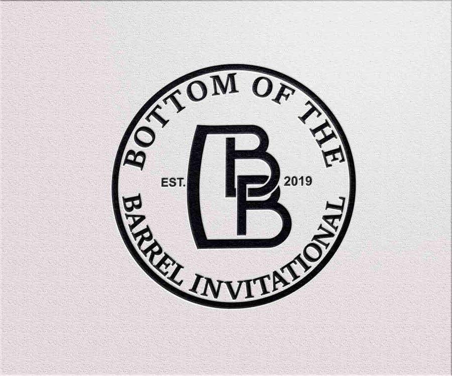 "Конкурсная заявка №62 для Logo for ""Bottom of the Barrel Invitational"""