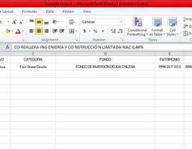 #14 for Data Entry PDF to Excel af arif001988