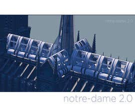 #72 for How would you rebuild the Notre-Dame Cathedral? by DepartmentS