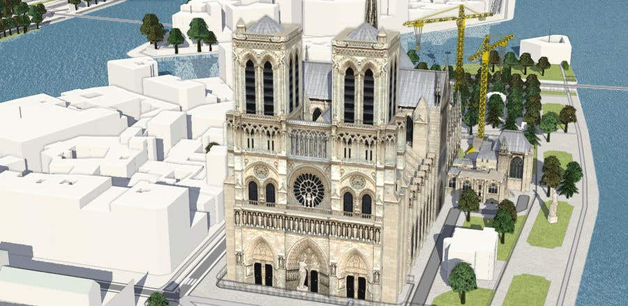 Contest Entry #                                        85                                      for                                         How would you rebuild the Notre-Dame Cathedral?