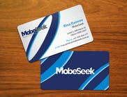 Graphic Design Конкурсная работа №134 для Business Card Design for MobeSeek