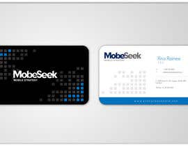 #85 for Business Card Design for MobeSeek af aries000