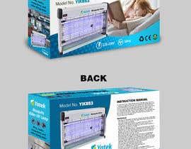 #17 untuk Create Print and Packaging Designs: Mosquito Killer UV Lamp oleh jaydeo