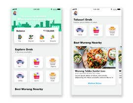 #3 cho Re-create a PSD on this attached image of grab app bởi wemsquaretech