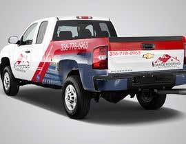 #73 para Partial truck wrap Grace Roofing & Construction por zeroyasith