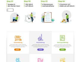 #178 для Create a new INDEX page for a Cleaning company от CoolDesignr