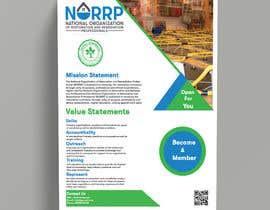 #106 untuk Create a membership informational flyer oleh pervez46