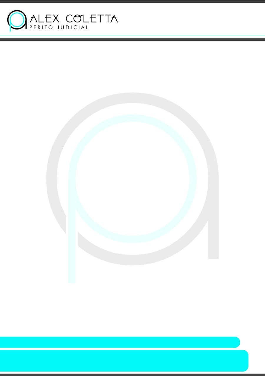 Penyertaan Peraduan #6 untuk Logo and word template report