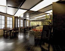 #36 para 3D interior Design of a Restaurant / Butcher Shop total de alisefat